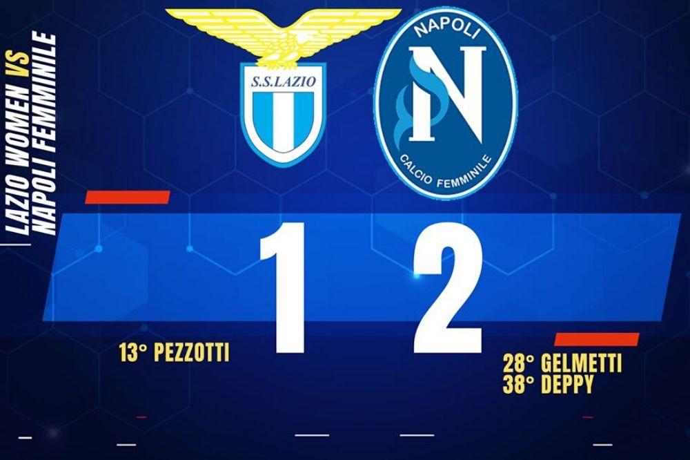 Lazio-Napoli Femminile 1-2: azzurre corsare a Roma
