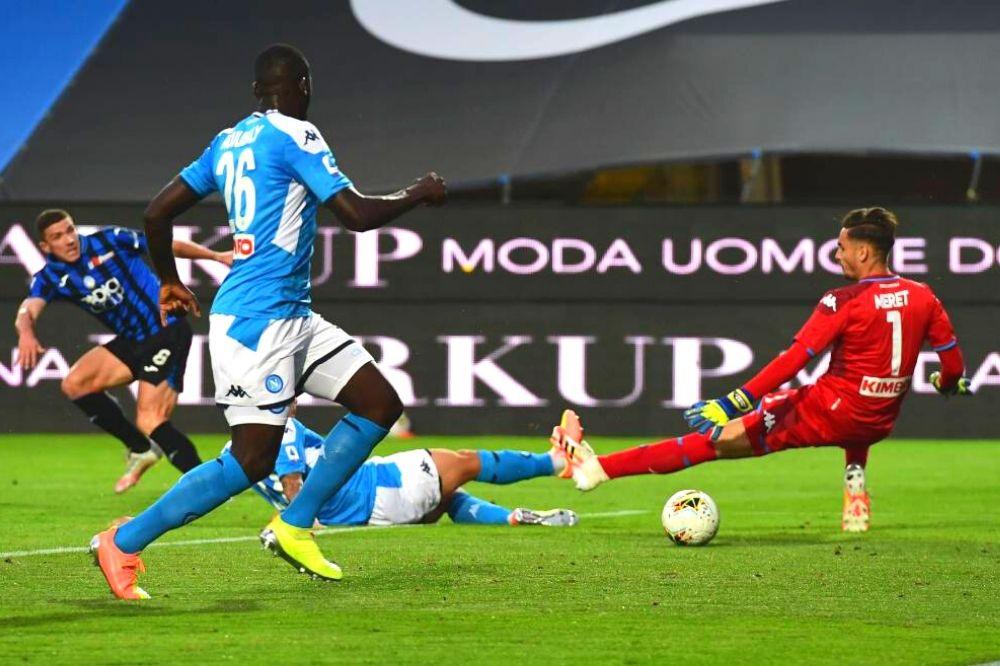Atalanta-Napoli 2-0: addio sogno Champions