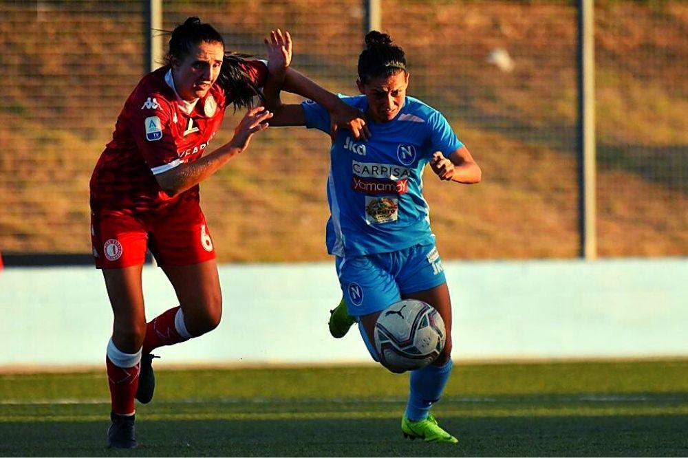 Pink Bari- Napoli Femminile 1-0: inizia male per le azzurre