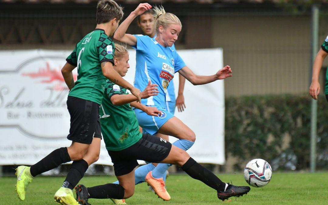 Florentia-Napoli Femminile 1-0: azzurre ancora a 0 punti